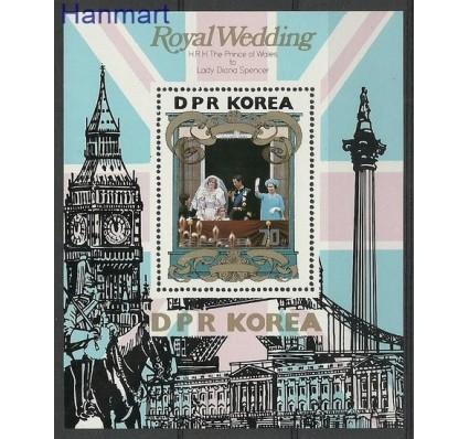 Znaczek Korea Północna 1981 Mi bl 105 Czyste **