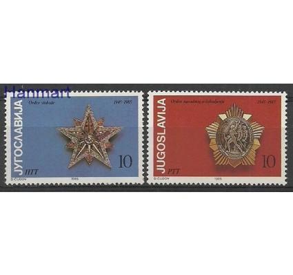 Znaczek Jugosławia 1985 Mi 2107-2108 Czyste **