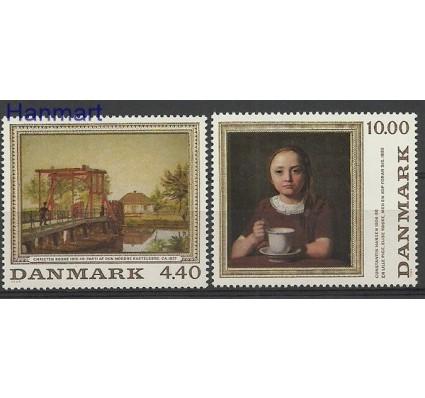 Znaczek Dania 1989 Mi 961-962 Czyste **