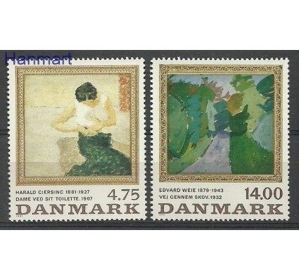 Znaczek Dania 1991 Mi 1016-1017 Czyste **