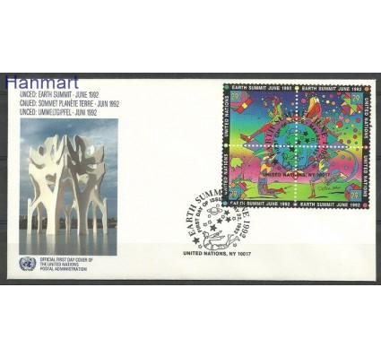Znaczek Narody Zjednoczone Nowy Jork 1992 Mi 629-632 FDC