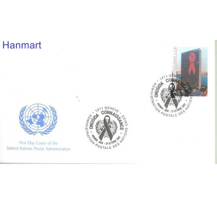 Znaczek Narody Zjednoczone Genewa 2002 Mi 456 FDC