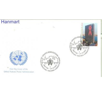 Znaczek Narody Zjednoczone Wiedeń 2002 Mi 379 FDC