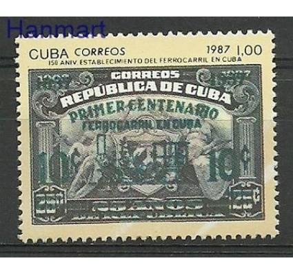 Znaczek Kuba 1987 Mi 3148 Czyste **