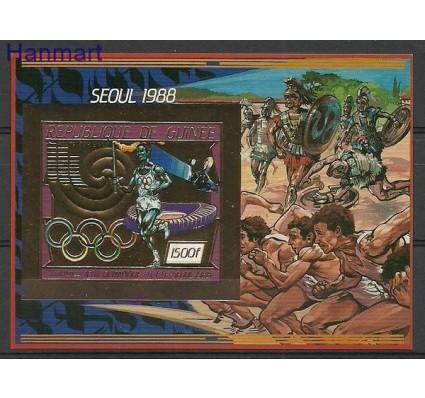 Znaczek Gwinea 1987 Mi bl 253B Czyste **