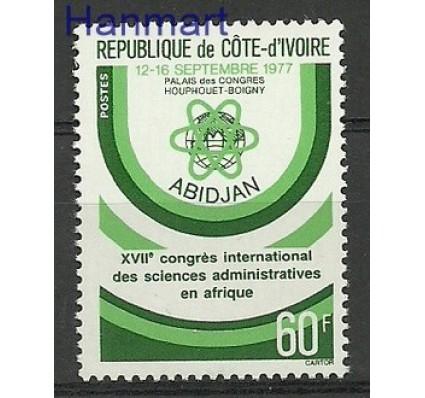 Znaczek Wybrzeże Kości Słoniowej 1977 Mi 523 Czyste **