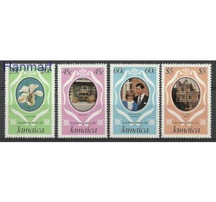 Znaczek Jamajka 1981 Mi 504-507 Czyste **