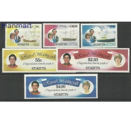 Znaczek Saint Kitts 1981 Mi 66-71 Czyste **