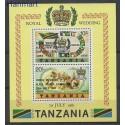 Tanzania 1981 Mi bl 24 Czyste **