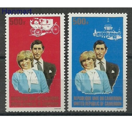 Znaczek Kamerun 1981 Mi 954-955 Czyste **