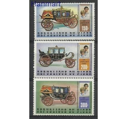 Znaczek Niger 1981 Mi 758-760 Czyste **