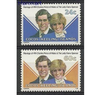 Znaczek Wyspy Kokosowe / Keelinga 1981 Mi 73-74 Czyste **