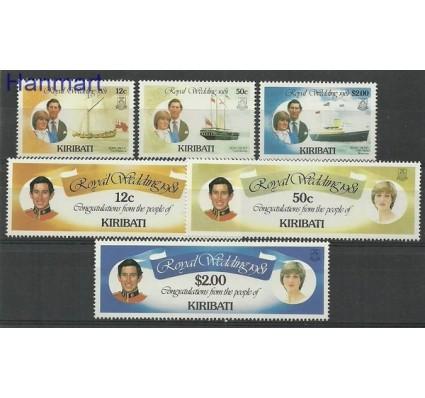 Znaczek Kiribati 1981 Mi 371-376 Czyste **