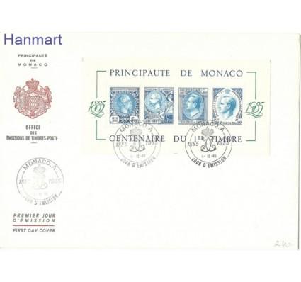 Znaczek Monako 1991 Mi bl 31 FDC