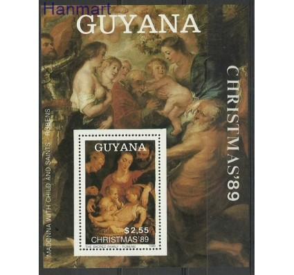 Znaczek Gujana 1989 Mi bl 73 Czyste **