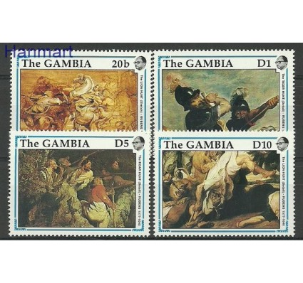 Znaczek Gambia 1990 Mi 1086-1087 Czyste **