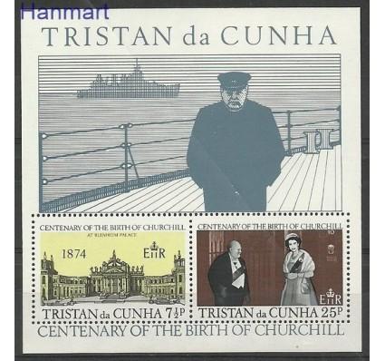 Znaczek Tristan da Cunha 1974 Mi bl 3 Czyste **