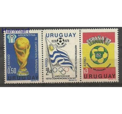 Znaczek Urugwaj 1979 Mi 1542-1544 Czyste **