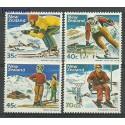 Nowa Zelandia 1984 Mi 897-900 Czyste **