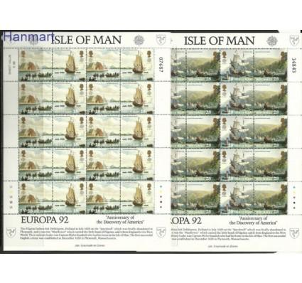 Znaczek Wyspa Man 1992 Mi ark 503-506 Czyste **