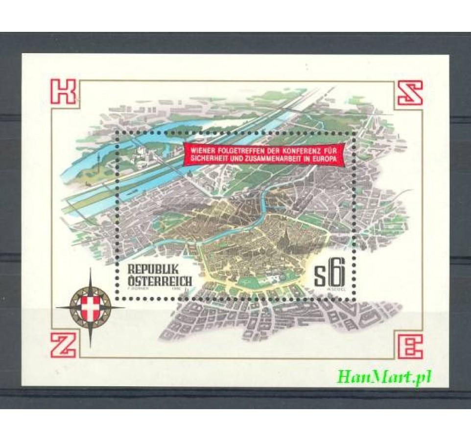 Austria 1986 Mi bl 8 Czyste **