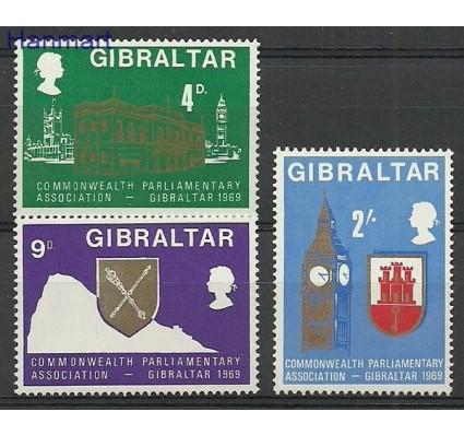 Znaczek Gibraltar 1969 Mi 221-223 Czyste **