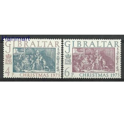 Znaczek Gibraltar 1973 Mi 306-307 Czyste **