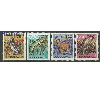 Znaczek Jugosławia 1967 Mi 1228-1231 Czyste **