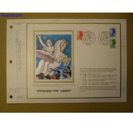 Znaczek Francja 1985 Mi 2509-2511 Pierwszy dzień wydania
