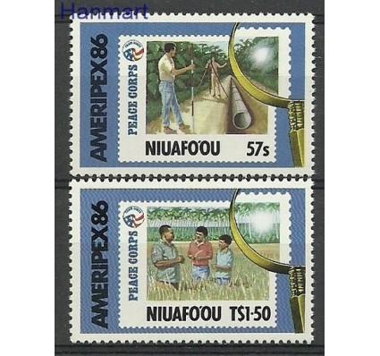 Znaczek Niuafo'ou 1986 Mi 83-84 Czyste **