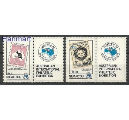 Znaczek Niuafo'ou 1984 Mi 48-49 Czyste **