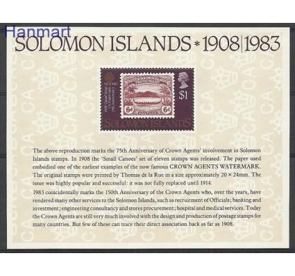 Znaczek Wyspy Salomona 1983 Mi bl 13 Czyste **