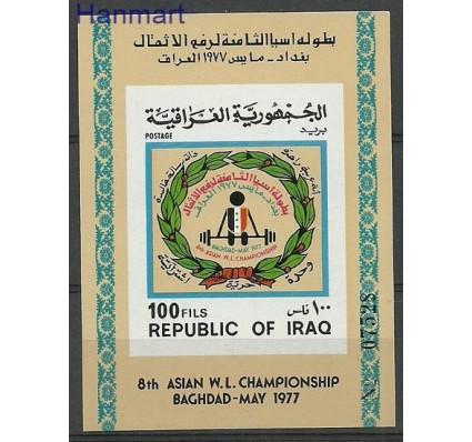 Znaczek Irak 1977 Mi bl 29 Czyste **
