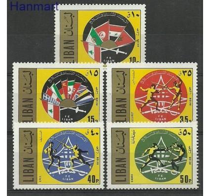Znaczek Liban 1971 Mi 1101-1105 Czyste **