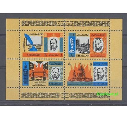 Znaczek Sharjah 1966 Mi bl 16 Czyste **