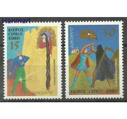 Znaczek Cypr  1997 Mi 897-898 Czyste **