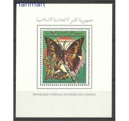 Znaczek Komory 1989 Mi bl 291 Czyste **