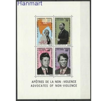 Znaczek Kamerun 1969 Mi bl 7 Czyste **