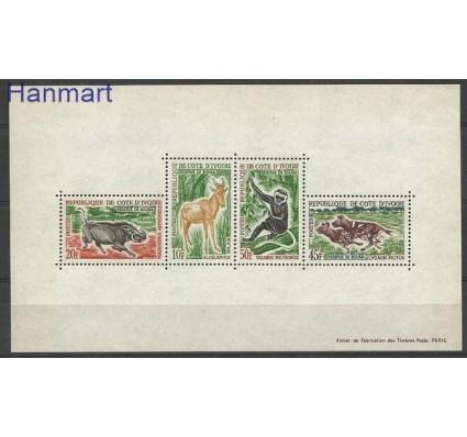 Znaczek Wybrzeże Kości Słoniowej 1963 Mi bl 2 Czyste **