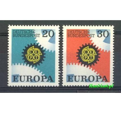Znaczek Niemcy 1967 Mi 533-534 Czyste **