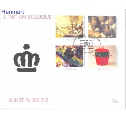 Znaczek Belgia 2001 Mi 3054-3057 FDC
