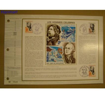 Znaczek Francja 1972 Mi 1806-1807 Pierwszy dzień wydania