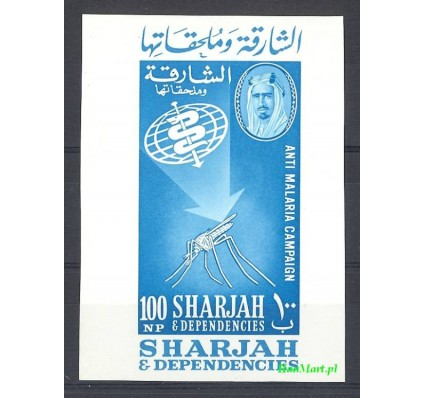 Znaczek Sharjah 1963 Mi bl 1 Czyste **