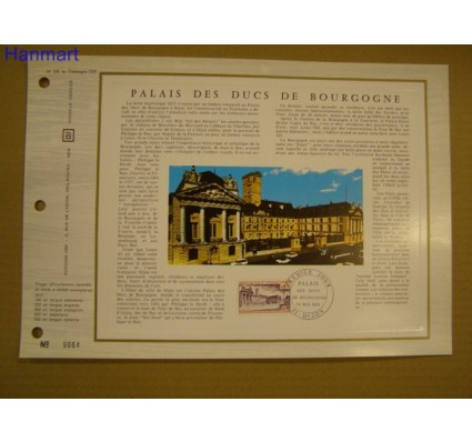 Znaczek Francja 1973 Mi 1833 Pierwszy dzień wydania
