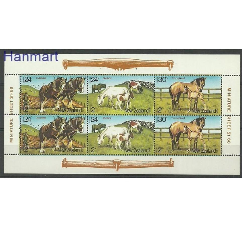Nowa Zelandia 1984 Mi 906-908 Czyste **