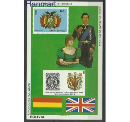 Znaczek Boliwia 1981 Mi bl 119 Czyste **