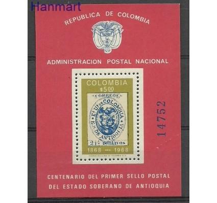 Znaczek Kolumbia 1968 Mi bl 30 Czyste **