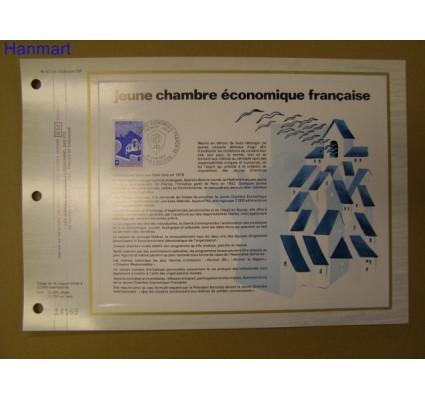 Znaczek Francja 1977 Mi 2037 Pierwszy dzień wydania