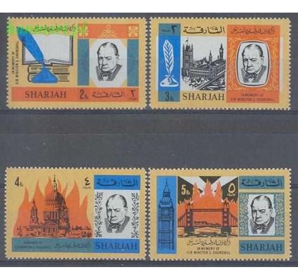Sharjah 1966 Mi 221-224 Czyste **