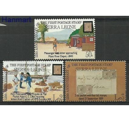 Znaczek Sierra Leone 1984 Mi 780-782 Czyste **